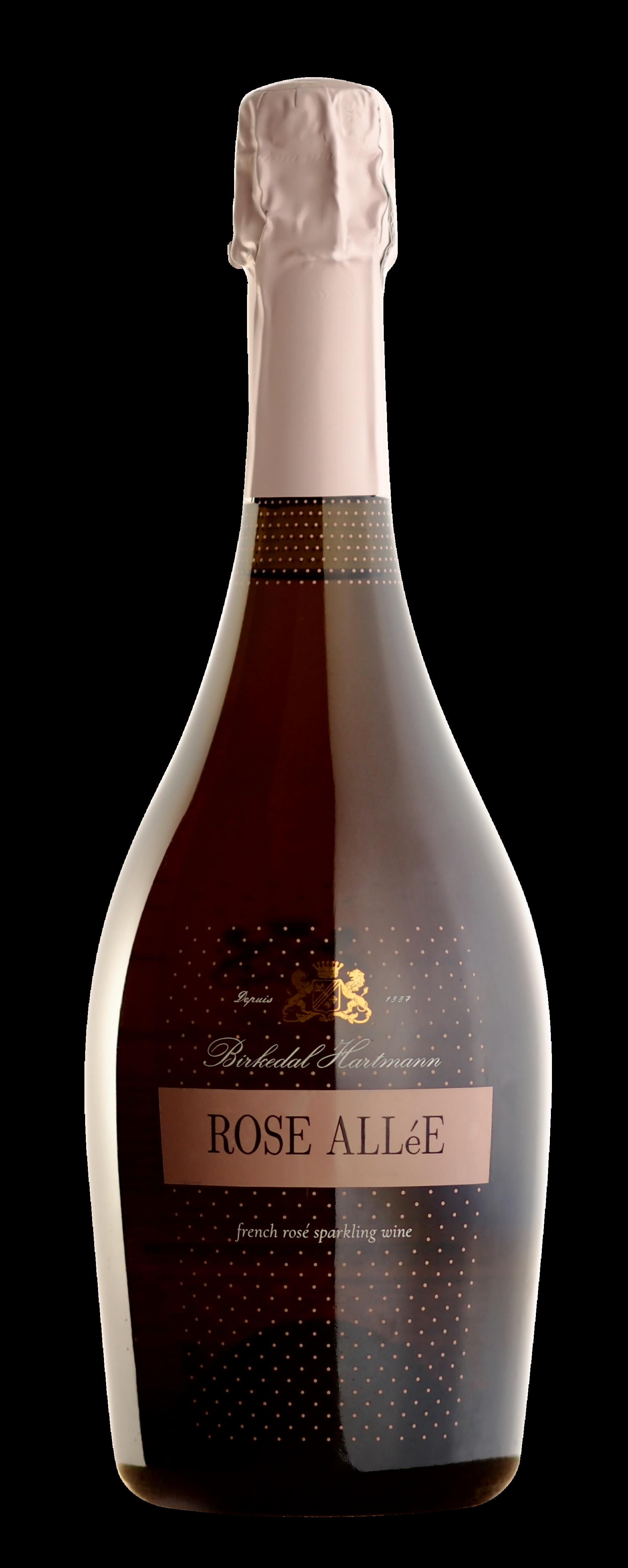 packshot ROSE AlléE - French Rosé Sparking Wine